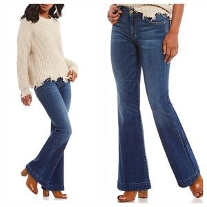 7 For All Mankind Dojo Bootcut Flare Leg Jeans